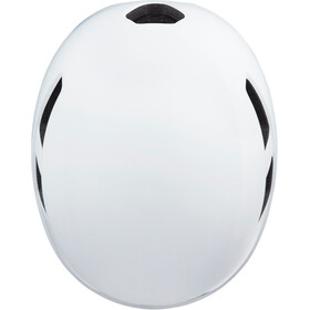 Lazer Urbanize NTA MIPS Helmet with LED, matte white flash yellow